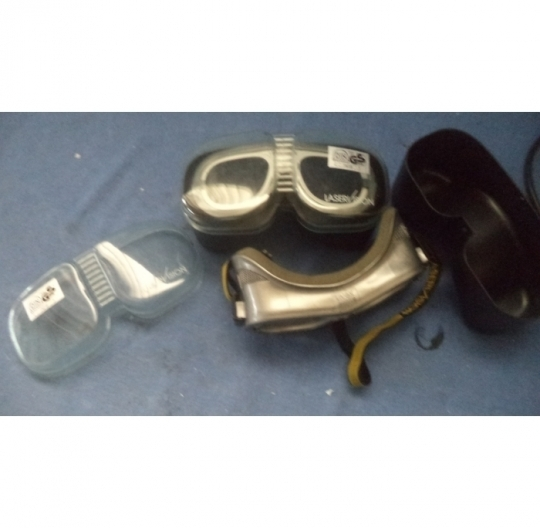 Laserschutzbrille / Laser glasses