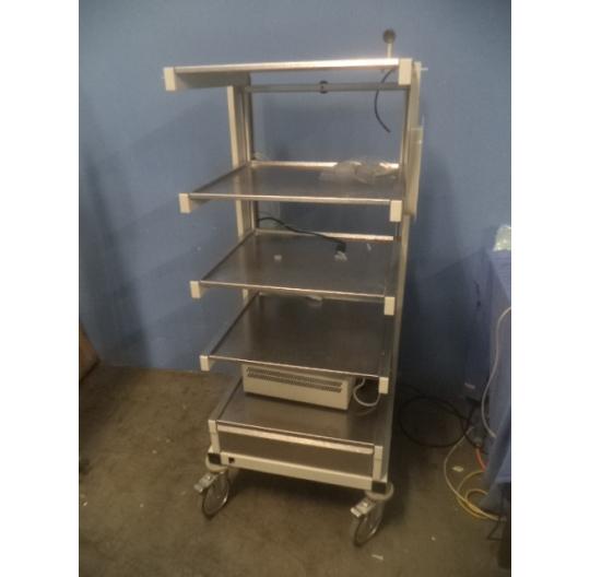 Endoskopieturm / Endoscopy trolley